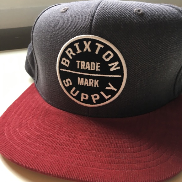 Brixton Supply Hat SnapBack 2e338495d6d
